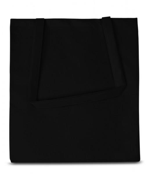 Non woven Tasche,lange Henkel,70 schwarz