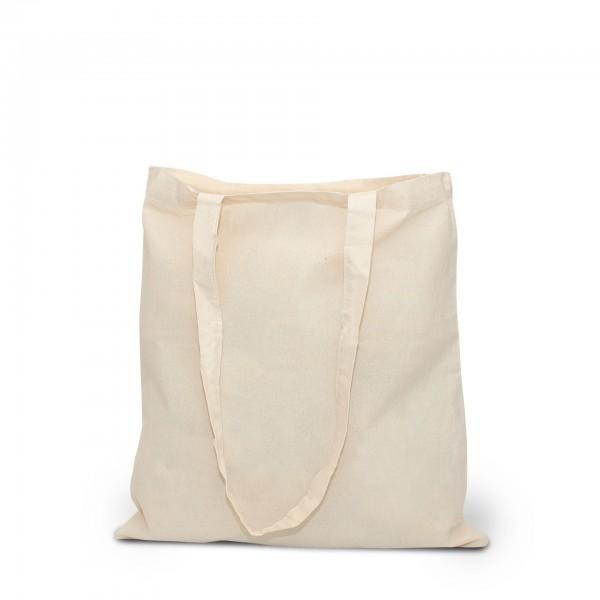 BIO-Baumwolltasche,lange Henkel,natur 100 % organic cotton