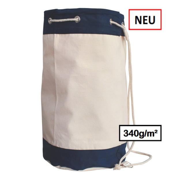 Seesack,sailing bag ,extra schwere Canvas Baumwolle,2-farbig
