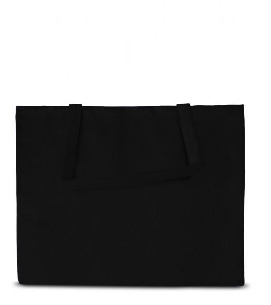 Große Non woven Tasche  70 schwarz
