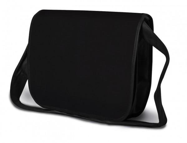 College Bag Schultertasche, Umhängetasche,Kongresstasche,schwarz