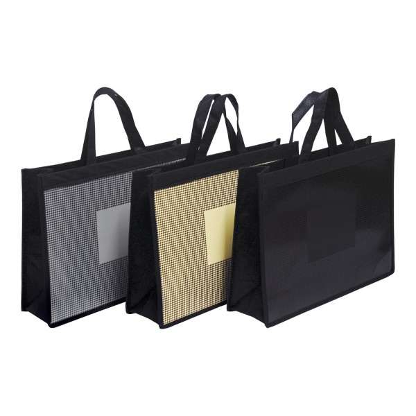 Exklusive Papiertragetaschen Carree in 3 Farbversionen