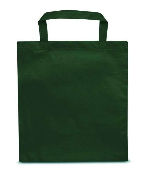 non woven Tasche kurze Henkel 41 dunkelgrün