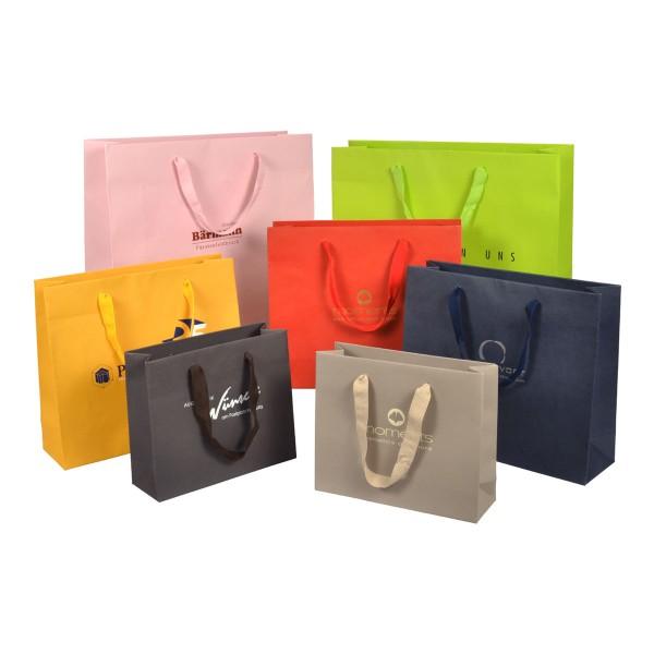 Papiertaschen Royal uni in 3 Größen und 7 Farben